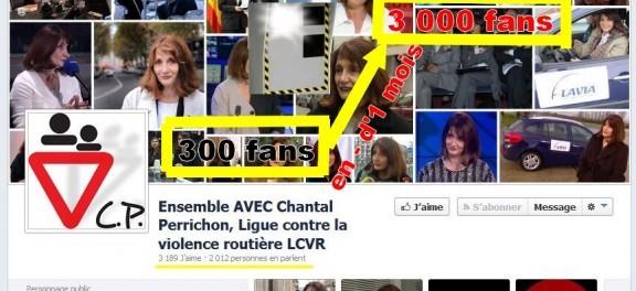 La page Facebook de la Ligue contre la violence routière semble avoir bénéficié d'un coup pouce… Un petit coup d'accélérateur sur le nombre de fans ? Vous voila flashé !