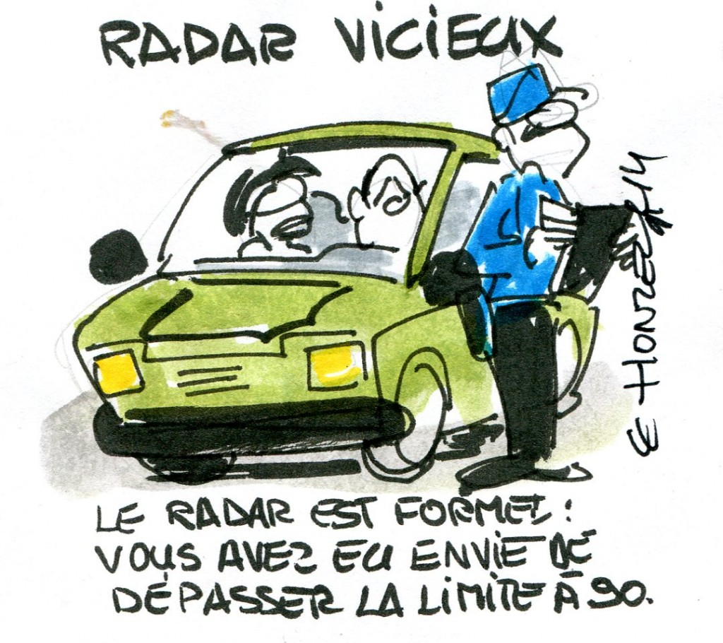 Radar vicieux René Le Honzec